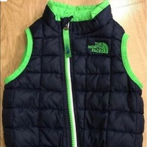 NORTH FACE THERMOBALL Vest Baby Toddler6-12 Months
